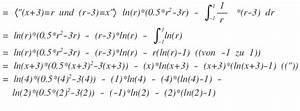 Ln Berechnen : integral bestimmtes integral berechnen f x x ln x 3 ~ Themetempest.com Abrechnung