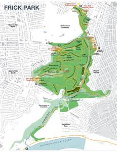 Pittsburgh Frick Park Trail Map