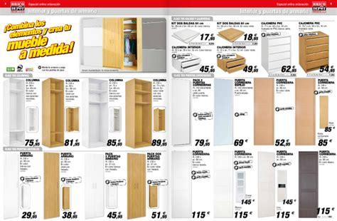 brico depot catalogo armarios  almacenamiento espaciohogarcom