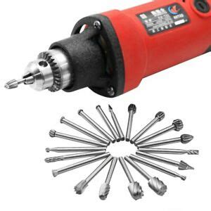 pcs hss wood carving rotary milling tools dremel