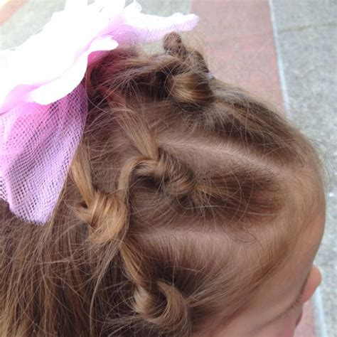 This is such a cute and creative way to spruce up your hair this easter. Kylee's Easter Hair | Childrens hairstyles, Hair styles ...