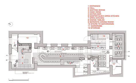 small restaurant kitchen layout ideas sushi restaurant carlo berarducci architecture