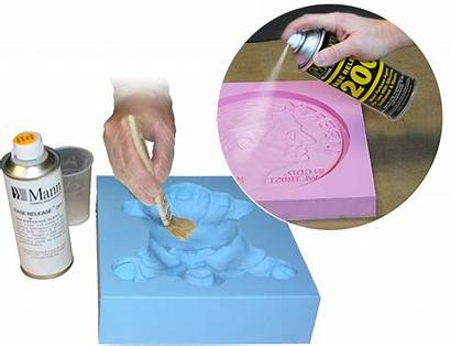 Release Ease Smooth Spray Agents Molds Making