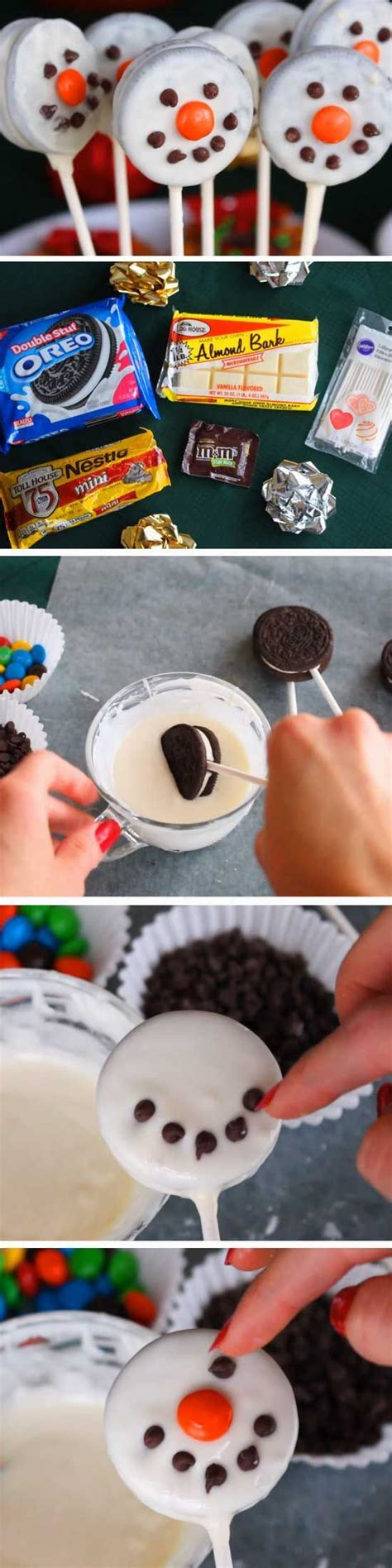 easy christmas food crafts 30 winter themed food ideas and easy crafts