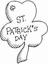 Shamrock Coloring Pages Printable Sheets Clover Printables March St Patrick Cutting Patterns Bestcoloringpagesforkids Did Know Pyrography sketch template