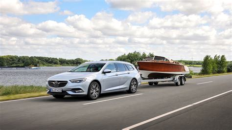 Opel Automobiles Sport by Opel Insignia Sports Tourer Trailer Towing The Relaxing