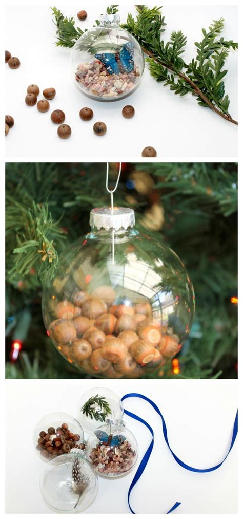 these diy ornaments add a touch of nature mnn mother