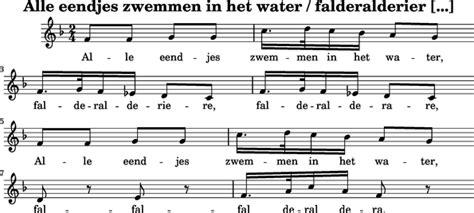 Kleurplaat Alle Eendjes Zwemmen In Het Water by Speelmuziek Alle Eendjes Zwemmen In Het Water