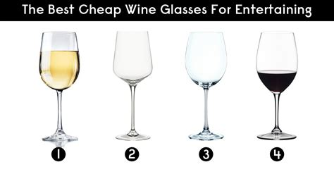 The Best Cheap Wine Glasses For Entertaining