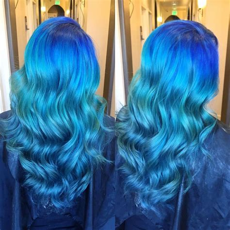 Ocean Inspired Color Intensity Using Joico Hair Colors Ideas