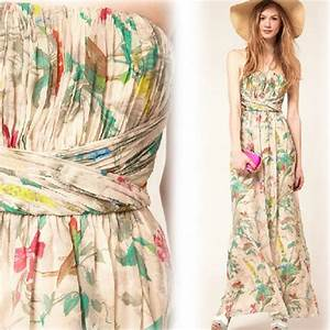 floral maxi dress for wedding trend wedding inspiration With floral maxi dress for wedding
