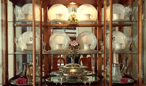 how to decorate a china cabinet decorating a china cabinet for the seasons the enchanted