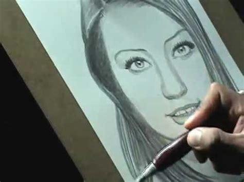Retrato Lápiz Mecánico Grafito 2b Dibujo Artístico