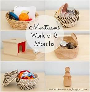 Montessori Spielzeug Baby : montessori work shelves at 8 months montessori for toddlers montessori montessori baby ~ Orissabook.com Haus und Dekorationen