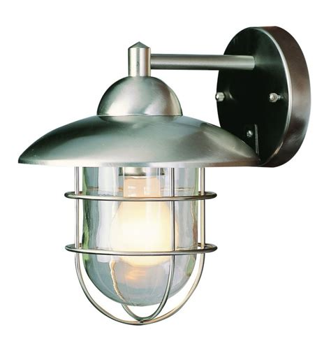 trans globe lighting 4371 st stainless steel industrial 1
