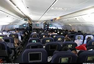 Continental Airlines Plane Interior