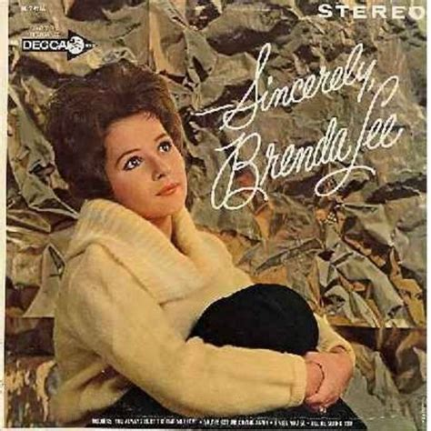 brenda lee only you sincerely brenda lee how deep is the ocean only you
