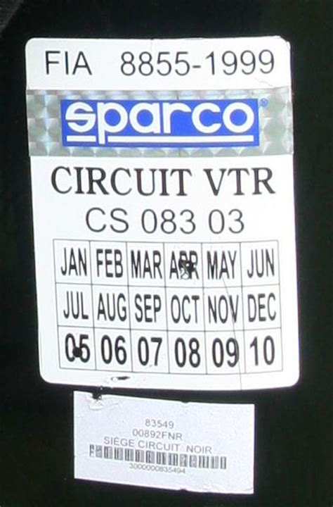 index of a vendre sparco circuit