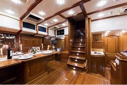 Superyacht Tempus Fugit Interior Yacht Sailing Yachts