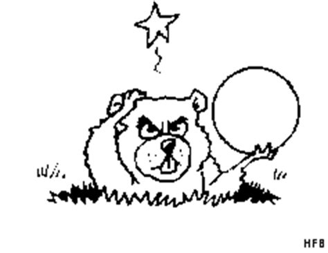 erdmaennchen mit golfball ausmalbild malvorlage comics
