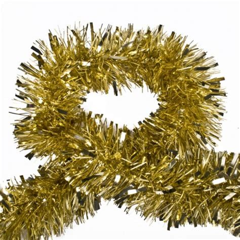 champagne gold luxury tinsel 2m