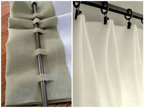 How To Make Drapes Without Sewing - easy no sew window treatments blue fabric best windows