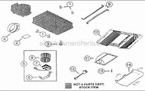 Nutone 668n Parts List And Diagram   Ereplacementparts Com
