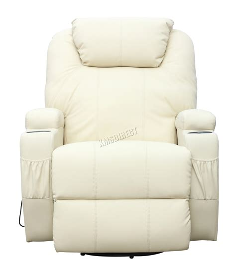 reclining sectional sofa with massage and heat foxhunter bonded leather massage recliner chair cinema
