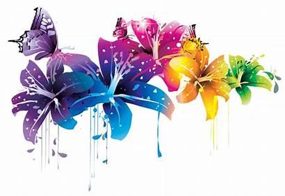 Vektor Gratis Flower Colorful Clipart Google Mbah