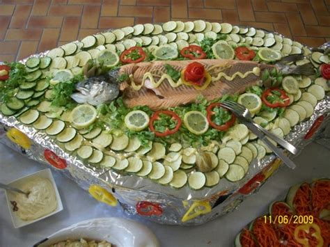 cuisiner du thon comment faire un buffet froid sur le thème de la pêche et