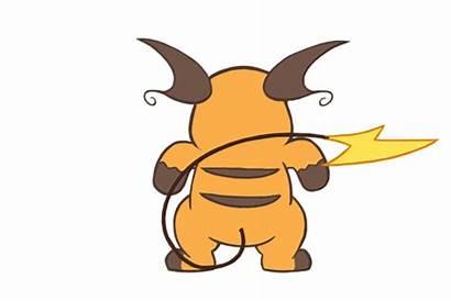 Raichu Pikachu Pokemon Gifs Believe Continuing Actually