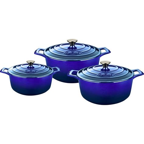 casserole cuisine la cuisine 6 cast iron casserole set with
