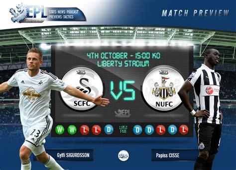 Swansea City v Newcastle United Preview   Key Men, Stats ...