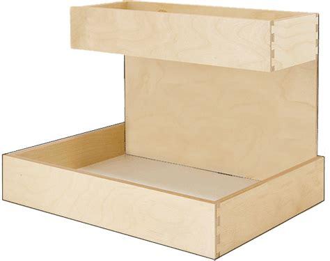 kitchen cabinet shelf risers pullout shelf caddy riser custom wood pullout shelf riser