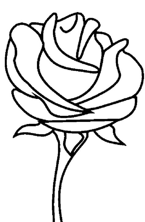 Give your children free will to explore and have fun looking at them go about it. Beautiful Rose Picture Coloring Page - Download & Print ...