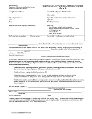 irrevocable letter of credit fillable irrevocable letter of credit fill