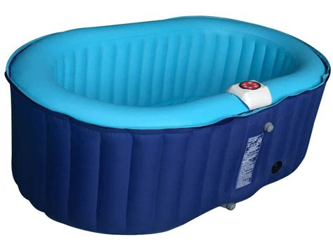 Spa Gonflable Ovale Blucky 2 Personnes Bleu