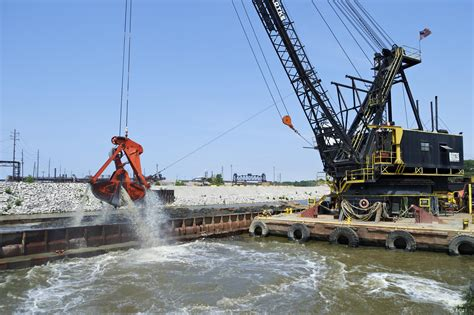 what does dredging ohio epa and the army corps of engineers remain at odds over lake erie dumping wksu