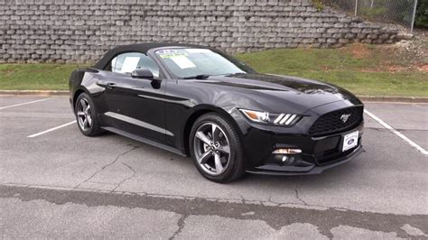 ford mustang  convertible youtube