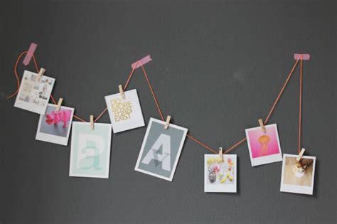Fotos Aufhängen Wand by Fotos Klammern Wand Kreativliste