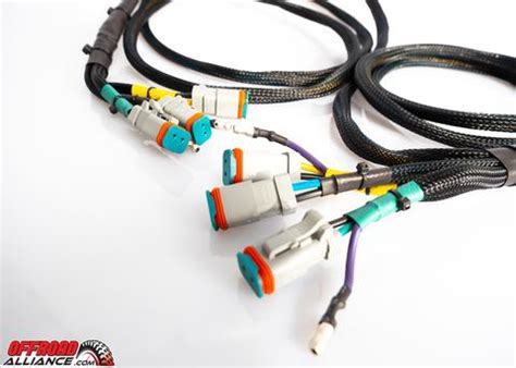 Wiring Harnes Hook Up by Raptor Lights Six Light Wiring Harness For Bumper Lights