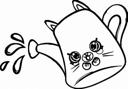 Shopkins Coloring Pages Printable Lips Petkins Drips