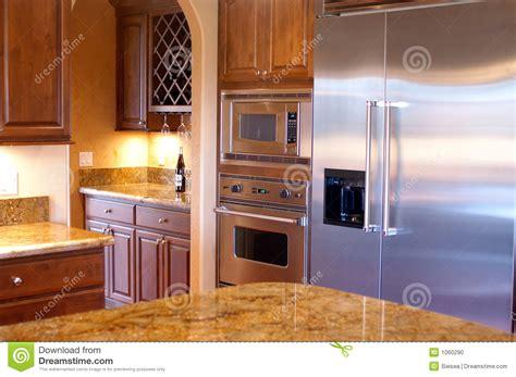 cuisine americaine de luxe vue de luxe de cuisine de chambre photo stock image 1060290