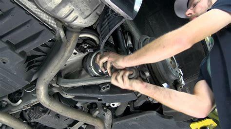 replacing mercedes  class rear spring  lowering