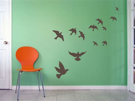 vinyldecalscom flying birds wall art decal