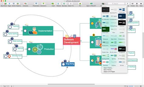 mind mapping software planning  brainstorming tool
