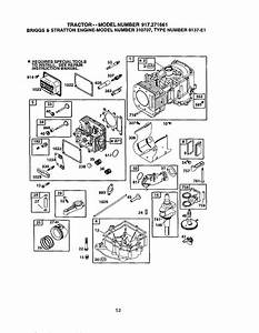 Craftsman 917271661 User Manual Lawn Tractor Manuals And