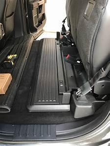 Under Seat Storage From  U0026 39 17 Super Duty