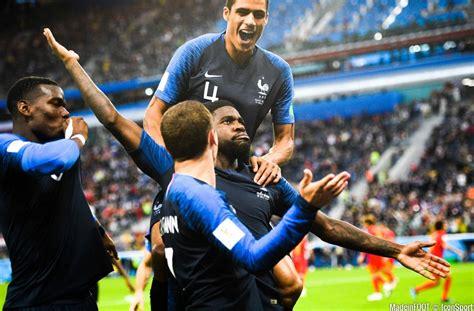 CDM 2018 La France bat la Belgique et s offre la belle