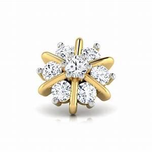 Erica Diamond Nose Pin Jewellery India Online - CaratLane.com